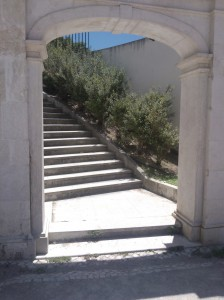 Stairs at the Jardim do Torel