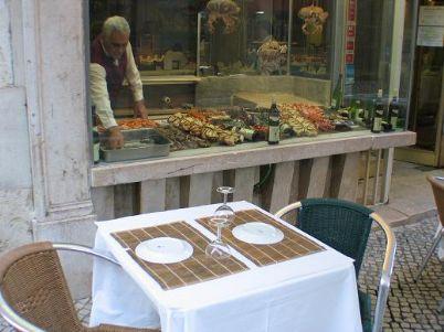 Restaurant row, Pena, Lisbon