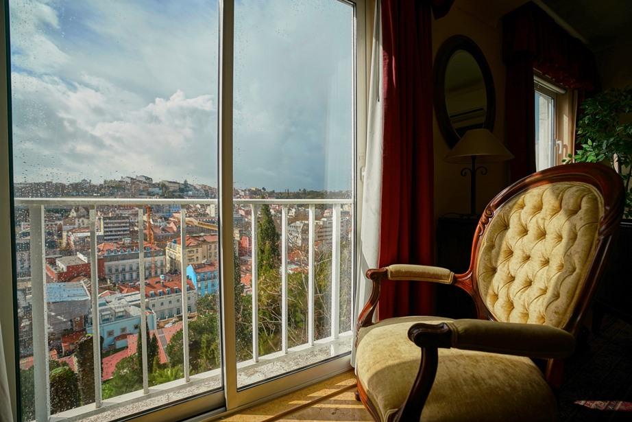 luxury vacation villa living room view